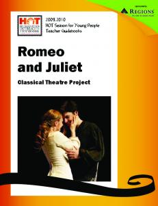Romeo and Juliet - Tennessee Performing Arts Center