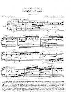 RONDO, in G major - Sheet Music Archive