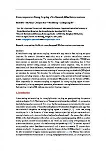 Room-temperature Strong Coupling of Au Nanorod-WSe2 ... - arXiv