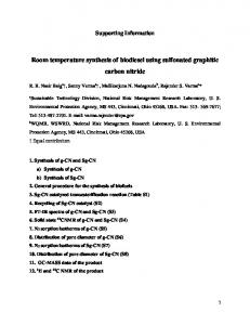 Room temperature synthesis of biodiesel using ...