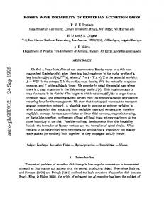 ROSSBY WAVE INSTABILITY OF KEPLERIAN ACCRETION DISKS