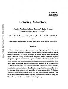 Rotating Attractors