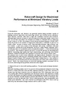 Rotorcraft Design for Maximized Performance at ... - CiteSeerX