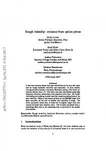 Rough volatility: evidence from option prices