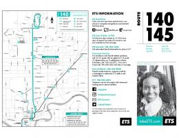 Route 140 Schedule and Map - City of Edmonton
