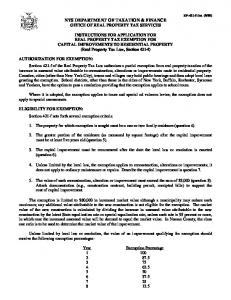 RP-421-f - Department of Taxation and Finance