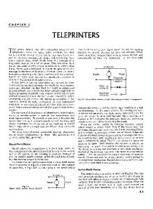 RSGB Telprinter Handbook - Chapter 2 - Sam Hallas