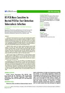 RT-PCR More Sensitive to Nested PCR for Fast ...