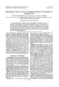 Rubella Virus - Journal of Clinical Microbiology - American Society for ...