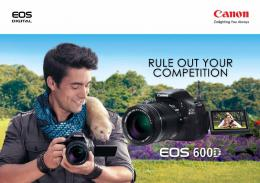 RULE OUT YOUR - Canon in South and Southeast Asia