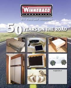 R.V. Parts and Accessories Catalog