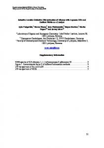 S1 Selective Aerobic Oxidative Dibromination of Alkenes with