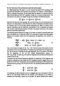 S1 Text. Derivation of the mathematical model and model ... - PLOS