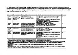 S12 Table. Contents of the Additional Pelagic Ecological ... - Plos
