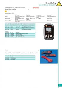 Safety catalogue page 161 - Thermo Fisher Scientific