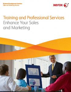 Sales and Marketing Services - Xerox