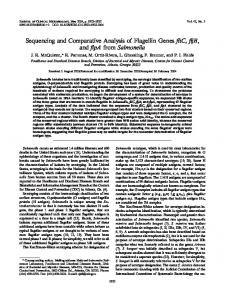 Salmonella - Journal of Clinical Microbiology