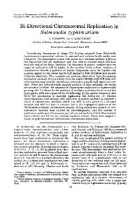 Salmonella typhimurium - Journal of Bacteriology - American Society