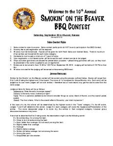 Salsa Contest Rules