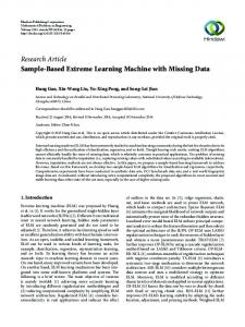 Sample-Based Extreme Learning Machine with ...