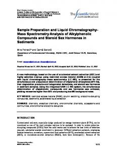 Sample Preparation and Liquid Chromatography