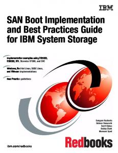 SAN Boot Implementation and Best Practices Guide for IBM System ...