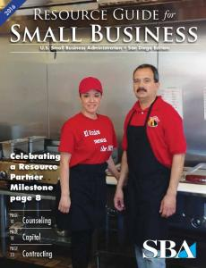 San Diego - Small Business Administration
