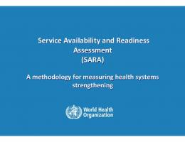 SARA - World Health Organization