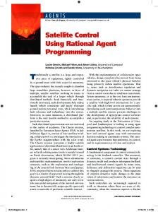 Satellite Control Using Rational Agent Programming - Computer ...