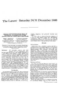 Saturday 24/31 December 1988 - ScienceDirect