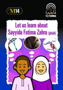 Sayyida Fatima Zahra Let us learn about - Dua