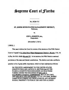 SC09-713 Opinion - Florida Supreme Court