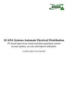 SCADA Systems Automate Electrical Distribution