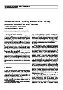 Scalable Distributed On-the-Fly Symbolic Model Checking*