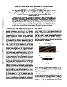 Scale invariance at the onset of turbulence in Couette flow