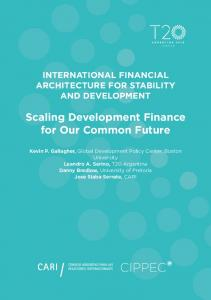 Scaling Development Finance for Our Common Future - T20 Argentina