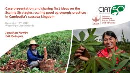 scaling good agronomic practices in Cambodia's ...