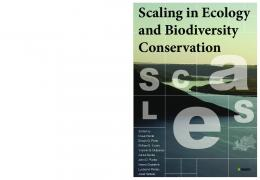 Scaling in Ecology and Biodiversity Conservation - scales