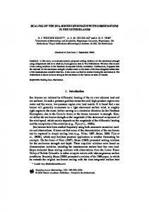 Scaling of the Sea-Breeze Strength with Observations ... - Springer Link