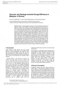 Scenario and Strategy towards Energy Efficiency in Malaysia ...www.researchgate.net › publication › fulltext › Scenario-a