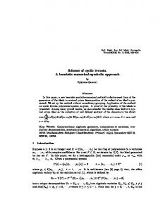 Scheme of cyclic 9-roots. A heuristic numerical-symbolic ... - SSMR