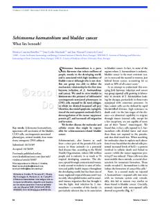 Schistosoma haematobium and bladder cancer - Semantic Scholar
