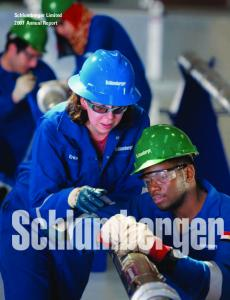 Schlumberger Limited 2007 Annual Report