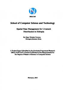School of Computer Science and Technology