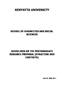 School of Humanities and Social Sciences.