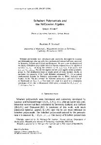 Schubert Polynomials and the NilCoxeter Algebra