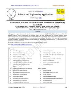 Science and Engineering Applications - PAYAM SCIENTIFIC