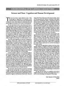 Science and Time: Cognition and Human Development - SciELO