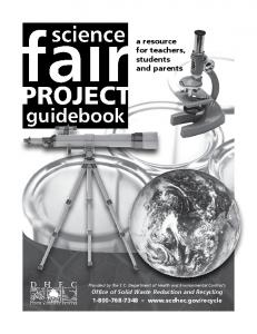 Science Fair Project Guidebook