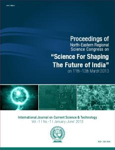 Science For Shaping The Future of India - NIT Arunachal Pradesh